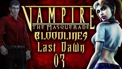 """Lets Roleplay Vampire The Masquerade: Bloodlines Episode  03 """"Mercurio"""""""