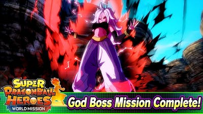 How to Beat Android 21 Saga: God Boss Difficulty | Super Dragon Ball Heroes: World Mission