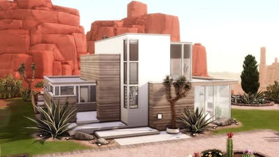 The Sims 4 Red Rock Contemporary Stop Motion | What Really Happened in Strangerville Mini Movie