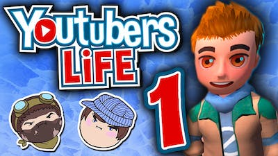 Youtubers Life: Just Like Real Life - PART 1 - Steam Train