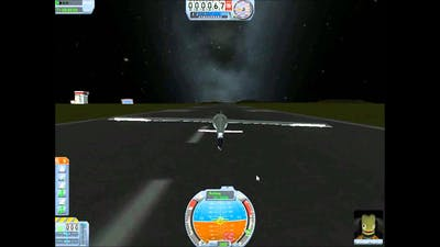 KSP a Glider with no power