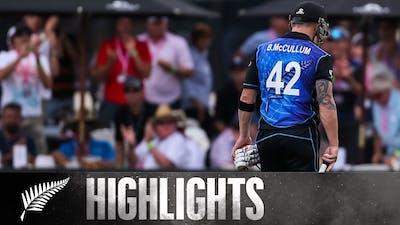 McCullum's Last ODI, Thrilling Trophy Decider | HIGHLIGHTS | BLACKCAPS v Australia | 3rd ODI, 2016