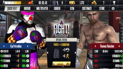 Real boxing gameplay # 1