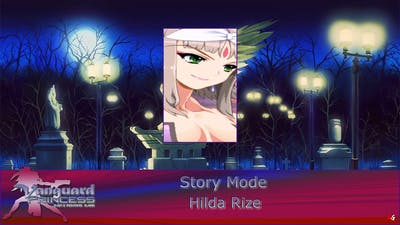 Vanguard Princess: Story Mode - Hilda Rize