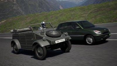 Volkswagen Kübelwagen Typ 82 '44   Matterhorn Rotenboden Race   Gran Turismo 6   GT6   PS3