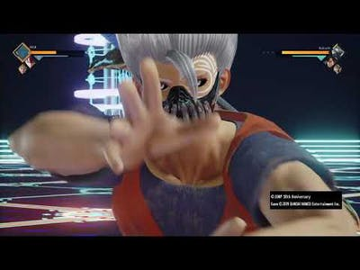 Showing DLC pass 2 jump force [ only 2 characters cuz lazy ]
