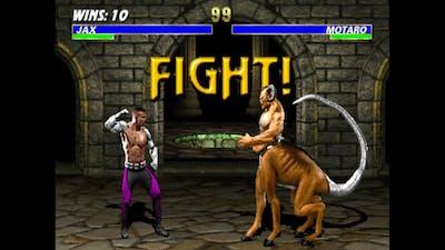Mortal Kombat 3 - Jax (No Damage) (Very Hard/Master Ladder) (ARC) (4K)