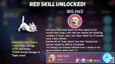 Bolt Red Skill Unlocked   Disney Heroes: Battle Mode