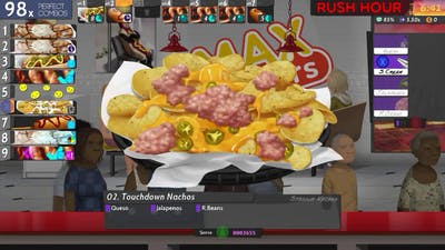 Cook, Serve, Delicious! 2!! - MAX Wieners 08 - Gold Medal w/gamepad