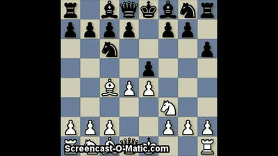 Failed Attempt to Avoid the Fried Liver Attack, Chess
