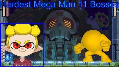 Ranking the Mega Man 11 Bosses Easiest to Hardest