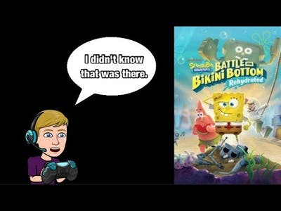 Let's Play: SpongeBob SquarePants: Battle For Bikini Bottom Rehydrated!! Part 1 - Getting Started