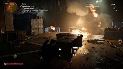 The Division 2 (PC, Ultimate) Walkthrough Part 386 / Fallen Cranes [1080p, Ultra]