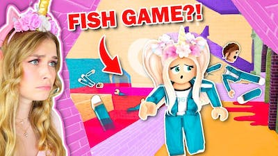 Playing FISH GAME For The First Time! (Roblox)