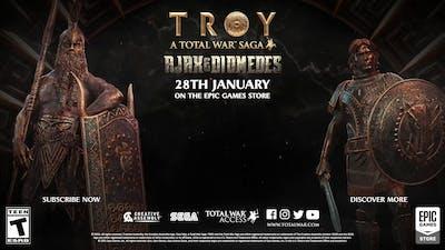 A Total War Saga: TROY Ajax Diomedes Gameplay Reveal