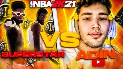 THE FIRST SUPERSTAR IN NBA 2K21 ONE PULLED UP ON ADIN... (NBA 2K21 INSANE GAMEPLAY)