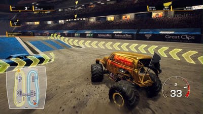 Monster Jam Steel Titans 2 trying to unlock grave digger