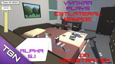 Let's play Catlateral Damage - Currently on Kickstarter - alpha 5.1