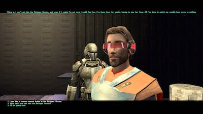 Star Wars Knights of the Old Republic II: The Sith Lords Playthrough Part 53 Reunited Lovers