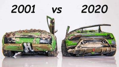 Restoration Abandoned New vs Old Lamborghini Huracan vs Murcielago -Model Cars