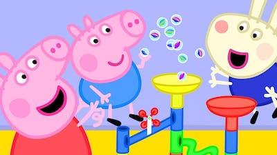Peppa Pig Episodes   Peppa Pig's Fun Marble Run Games