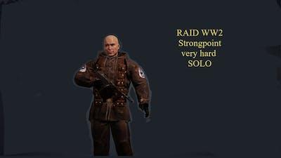 Raid  World War II Strongpoint very hard solo