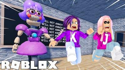Escape Miss Ani-Tron's Detention Obby!   Roblox