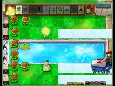 Defeating Bobsled Bonanza Plants vs. Zombies Game of the Year edition