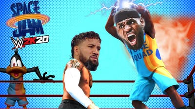 OMG LEBRON JAMES Space Jam Comes to WWE 2K20 and This Happened!