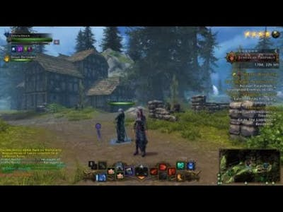 Neverwinter - Stronghold [tending the buildings and calling the recruiter]