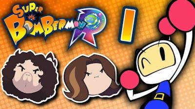 Super Bomberman R: Explosions Galore - PART 1 - Game Grumps VS
