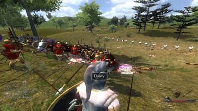 Mount and Blade:Warband-The Peloponnesian War.Carthaginians massacre Latins | ᴴᴰ