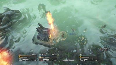 Helldivers - FLAM-40 'Incinerator' vs Cyborgs