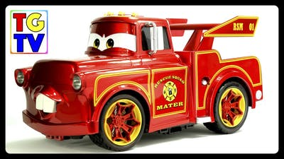 Disney Pixar Cars Toon Mater's Tall Tales  - Rescue Squad Mater