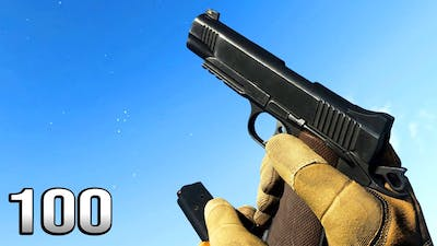 M1911 - Reload Animation in 100 Different Games