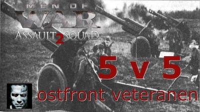 Men of War assault squad 2 Ostfront veteranen DLC FIGHT 5 v 5 #57