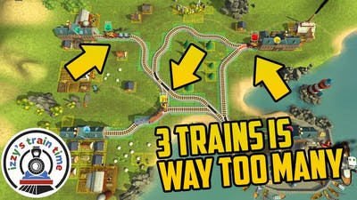 Train Valley: 3 TRAINS IS WAY TOO MUCH