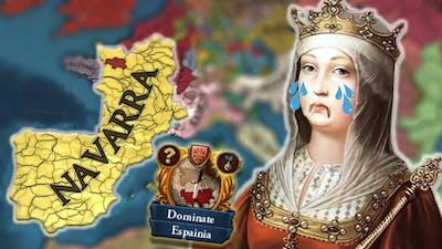 How to UNITE IBERIA as NAVARRA in EU4...
