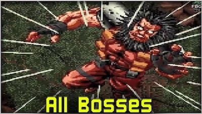 Shock Troopers - All Bosses