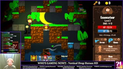 Who's Gaming Now?! - Vertical Drop Heroes HD (Early)
