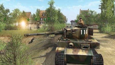 Men of War - Bonus campaign walkthrough - Mission 3 - The Battle of Vernon 1/3