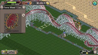 Roller Coaster Tycoon Classic part 1