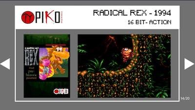 Radical Rex   Piko Interactive Collection 1   Game 14 of 20   Evercade Handheld