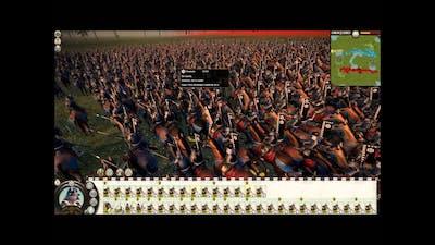 Total War: Shogun 2 BIGGEST BATTLE EVER!