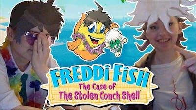 Freddi Fish 3 The Case of the Stolen Conch Shell   Hinata and Komaeda