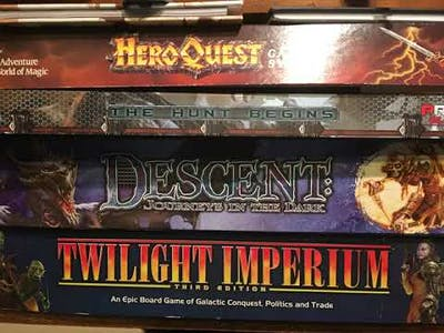 $350 New Board Game Standard Pricing