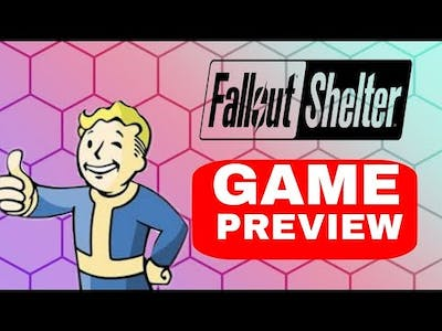 FallOut Shelter - Game preview