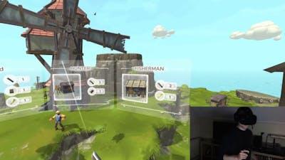Townsmen VR First Play! HTC Vive