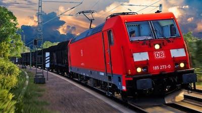 Train Sim World Ruhr-Sieg Nord | Hagen - Finnentrop | TSW Ruhr Sieg - BR 185.2 Deutsche Bahn AG