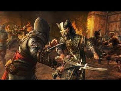 Assassin's Creed Revelations: Recruited maxed out level Assassins vs Janissaries.